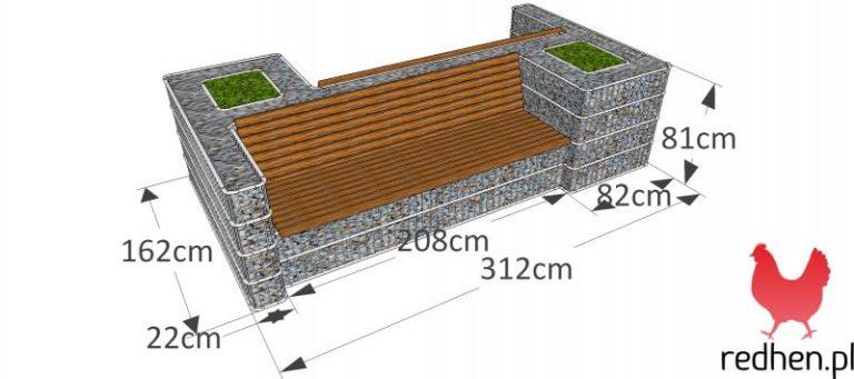 Mała Architektura Gabionowa 4