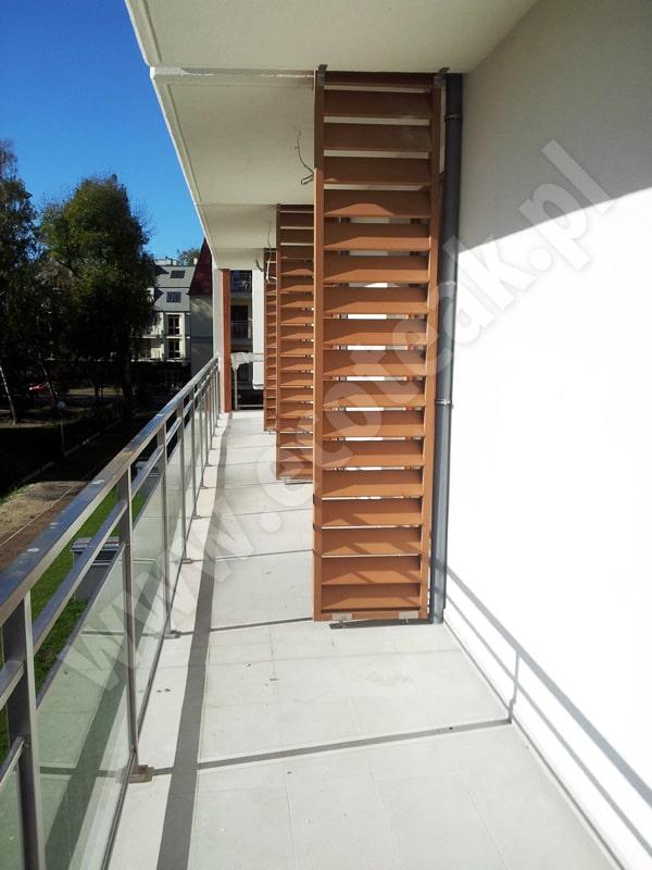 Przegrody balkonowe 6